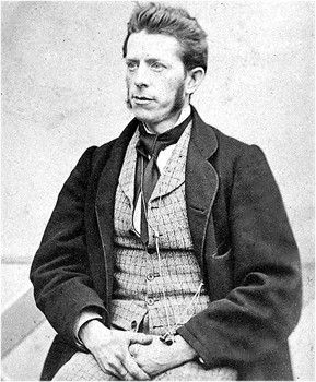 Tannlege Halvor Georg Theodor Moe (1826-1877), Louis Moe's far.