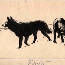 Louis Moe tegninger