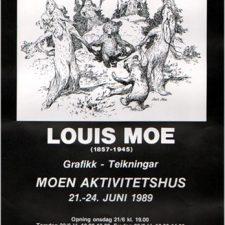 Utstillingsplakater, Louis Moe