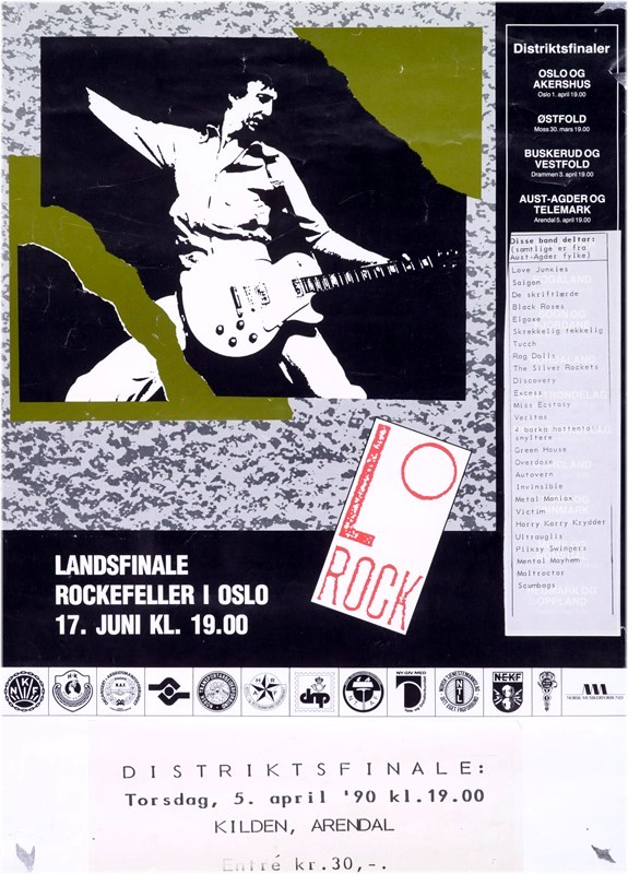 Ultra Uglies i LO-Rock 1990