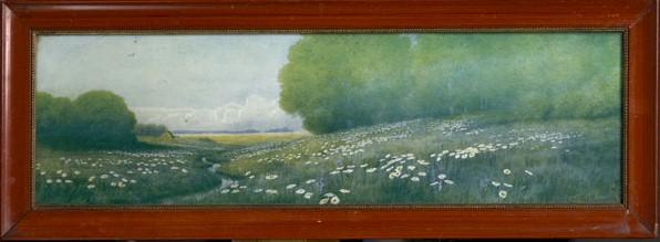 Blomstereng, offsettrykk ca 1910