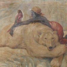 Louis Moe malerier