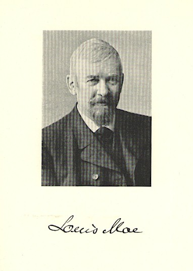 Portrett Louis Moe
