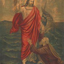 Jesus redder den druknende Peter