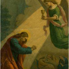 Jesus ber på Oljeberget