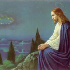 Jesus på Oljeberget