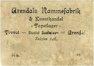Arendals Rammefabrik