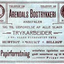 Arendals Bogtrykkeri
