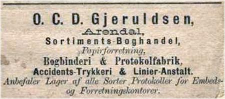 O. C. D. Gjeruldsen Trykkeri