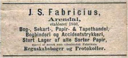 J. S. Fabricius