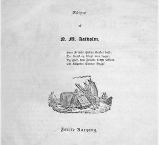 Den vestlandske Tidende No 1 Første Aargang - 31. juli 1832